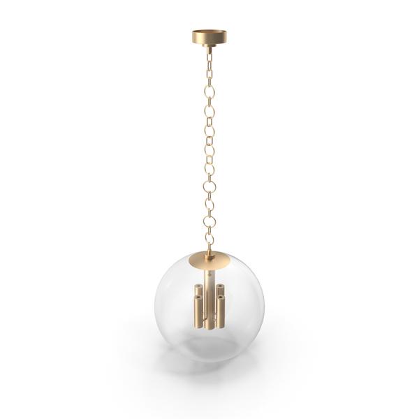 Turenne Medium Globe Pendant PNG & PSD Images