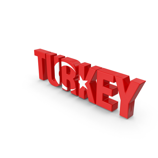 Turkey Text PNG & PSD Images