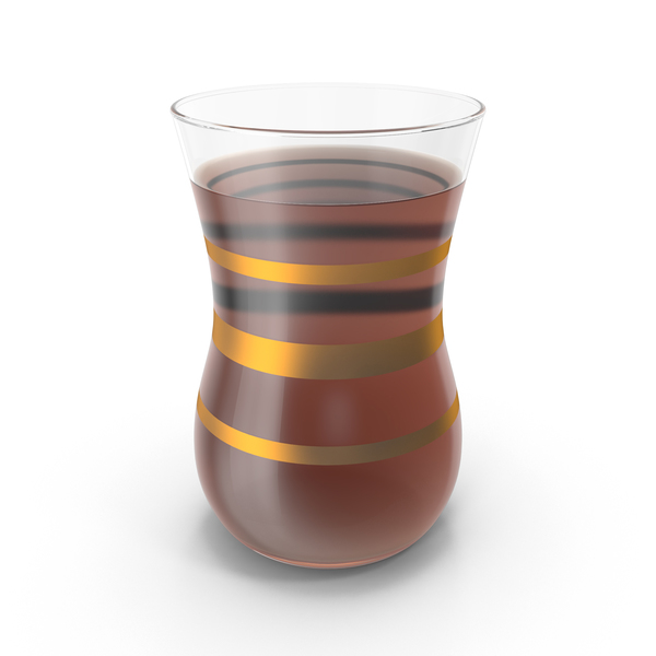 Turkish Glass Cup of Tea PNG & PSD Images