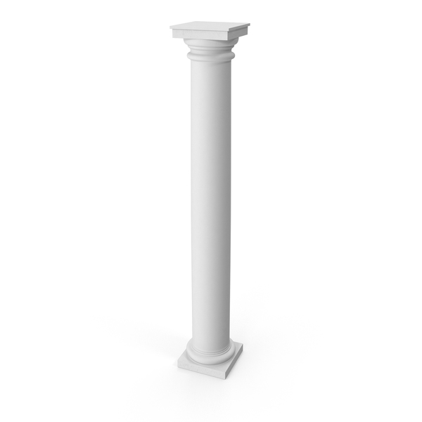 Tuscan Order Column PNG & PSD Images