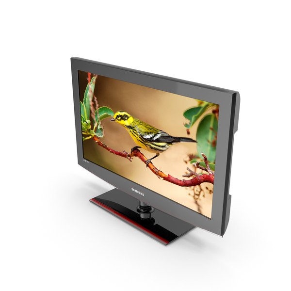 TV LCD Samsung LE32B460B2W PNG & PSD Images