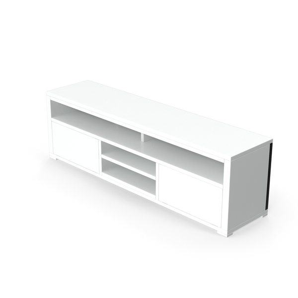 TV Stand White PNG & PSD Images