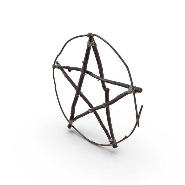 Twig Pentagram Object