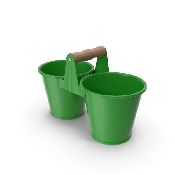 Twin Pot Green PNG & PSD Images