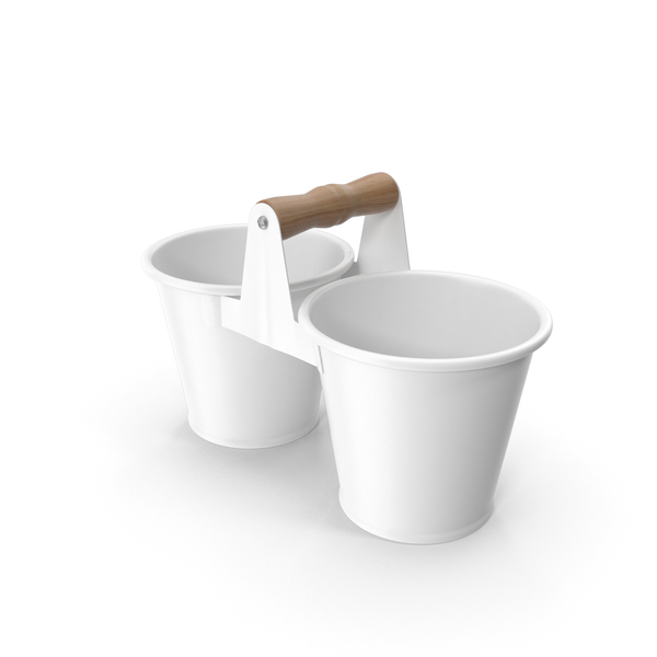 Twin Pot White PNG & PSD Images