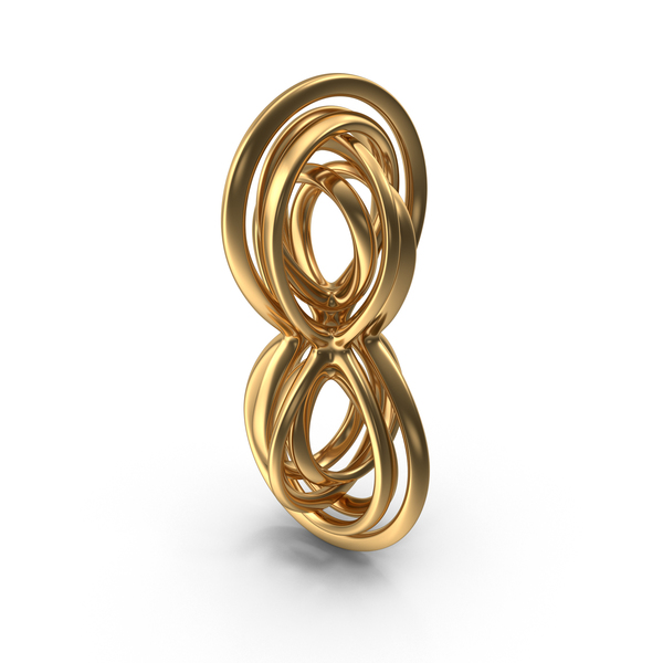 Twisted Knot Spiral PNG & PSD Images