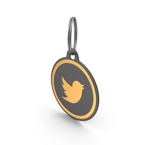 Keychain: Twitter Logo Icon PNG & PSD Images