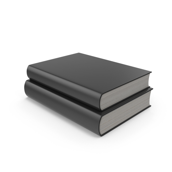 Two Black Books PNG & PSD Images
