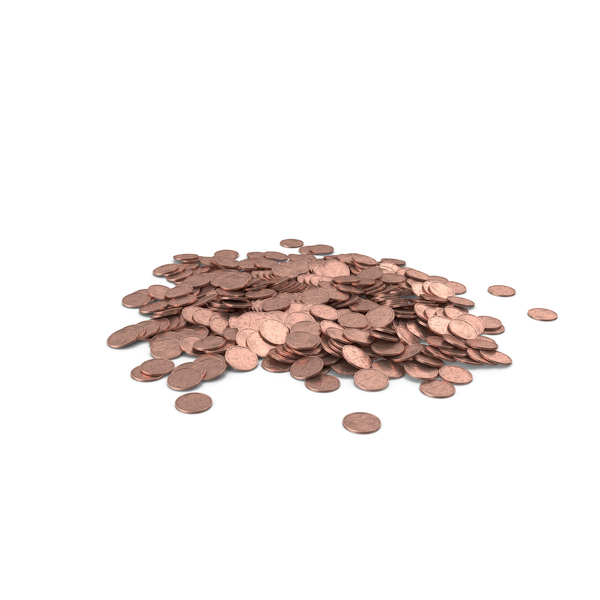 Two Euro Cent Pile PNG & PSD Images