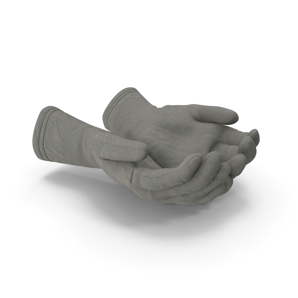 Two Gloves Handful Pose PNG & PSD Images