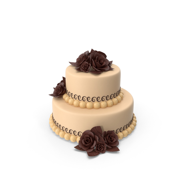 Two Tiered Cake PNG & PSD Images