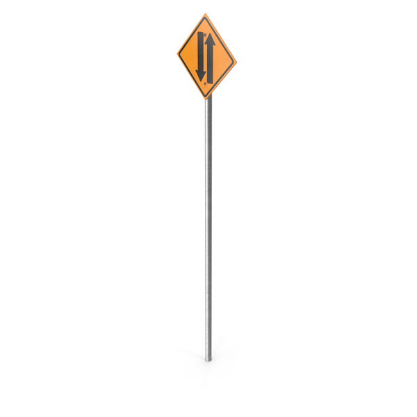Two-Way Street Sign PNG & PSD Images