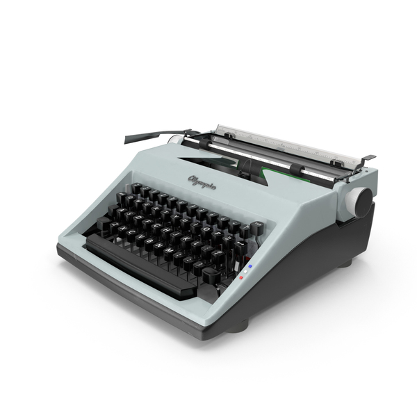 Typewriter Olympia PNG & PSD Images