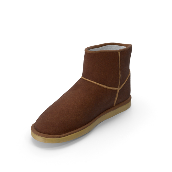 Ugg Boots Brown PNG & PSD Images