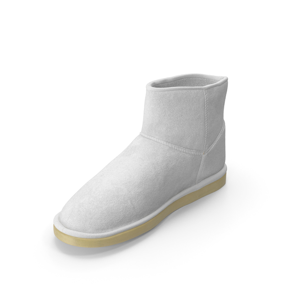 Ugg Boots White PNG & PSD Images