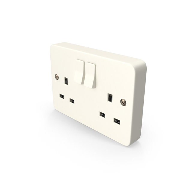 UK Electrical Outlet Object