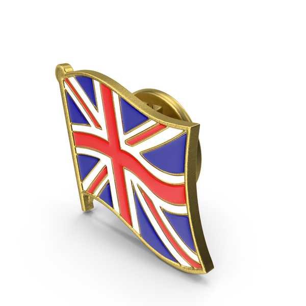 UK Great Britain Flag Lapel Pin PNG & PSD Images