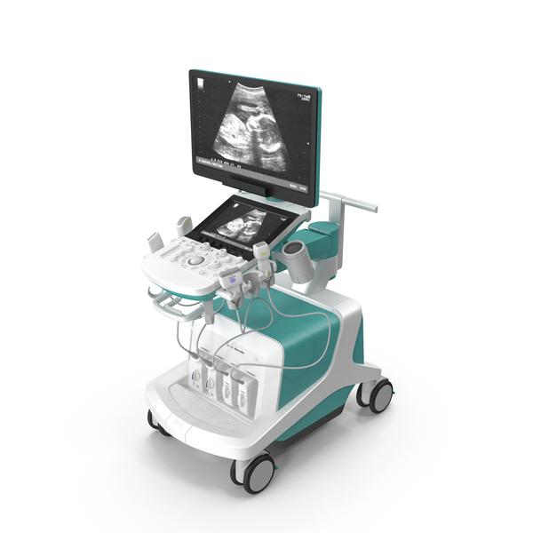 Ultrasound Scanner System Generic PNG & PSD Images