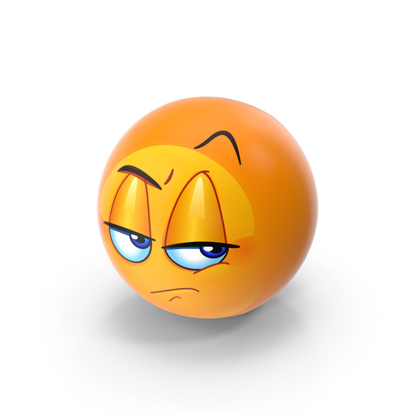 Facial Expression: Unamused Emoji PNG & PSD Images