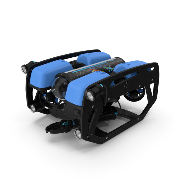 Underwater Robot BlueROV2 PNG & PSD Images