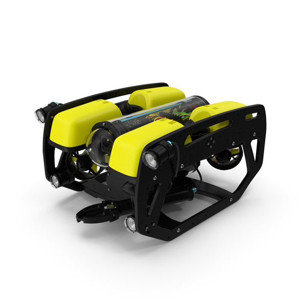 Industrial: Underwater Robot Generic PNG & PSD Images