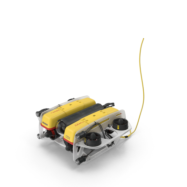 Remotely Operated Vehicle: Underwater Robot PNG & PSD Images