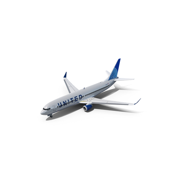 United BOEING 737 PNG & PSD Images