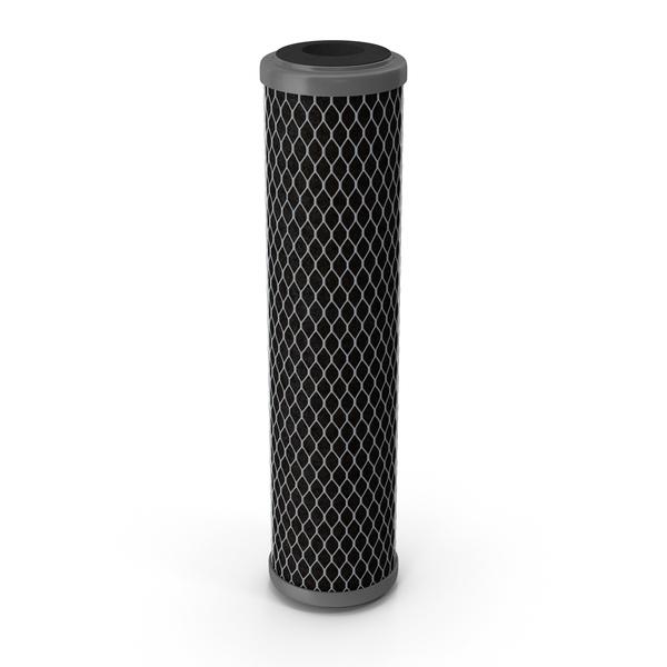 Universal Carbon Block Water Filter Cartridge PNG & PSD Images