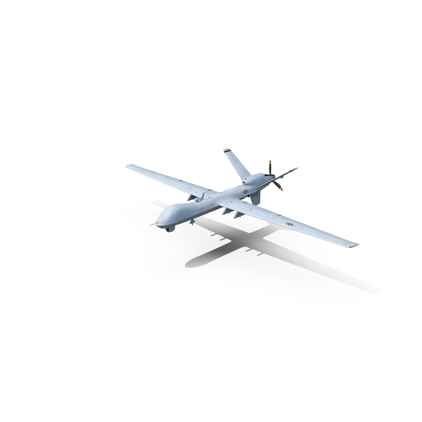 Unmanned Combat Air Vehicle MQ-9 Reaper UAV Object
