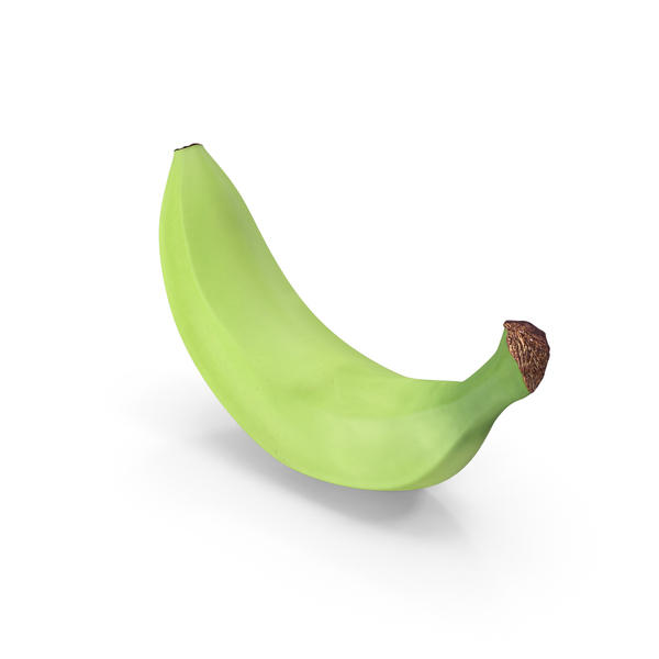 Unripe Banana PNG & PSD Images