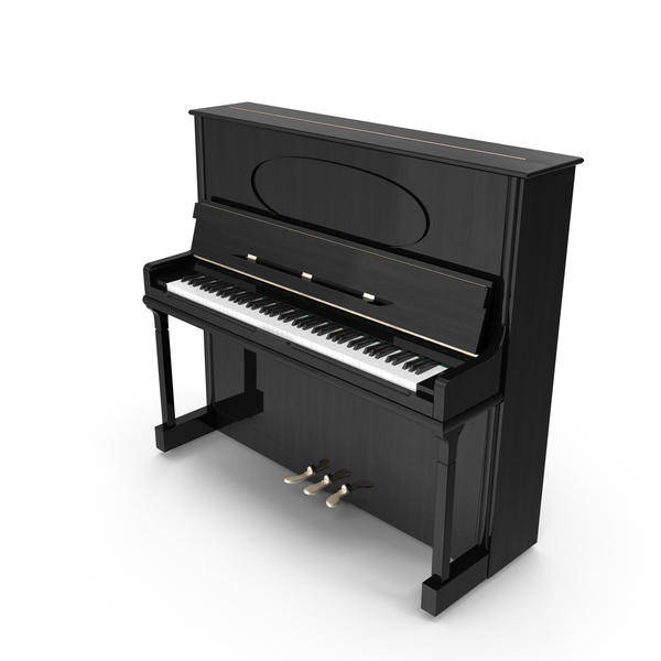 Upright Piano Object