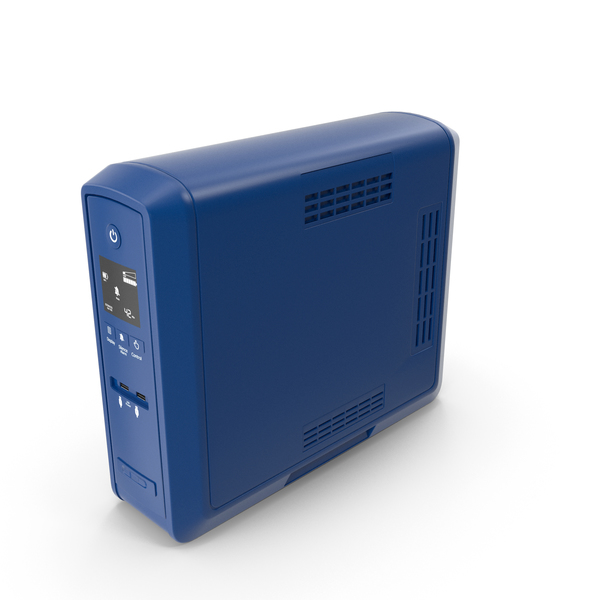 Uninterruptible Power Supply: UPS New Blue PNG & PSD Images