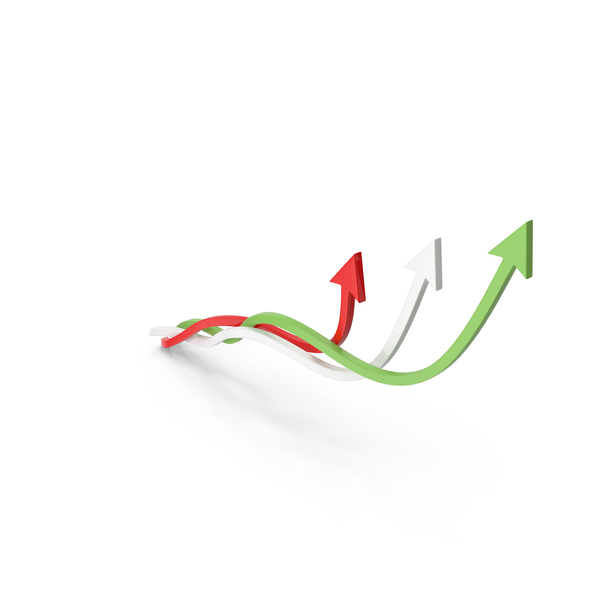 Upward Arrows PNG & PSD Images