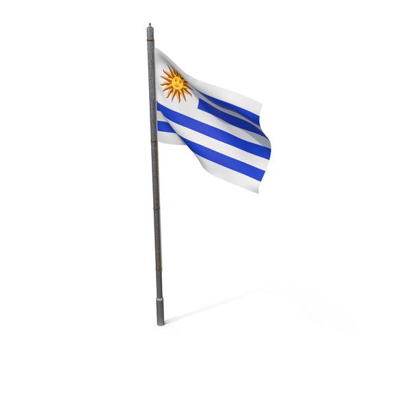 Uruguay Flag PNG & PSD Images