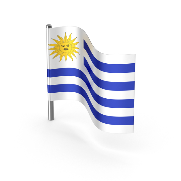 Uruguay Flag PNG & PSD Images