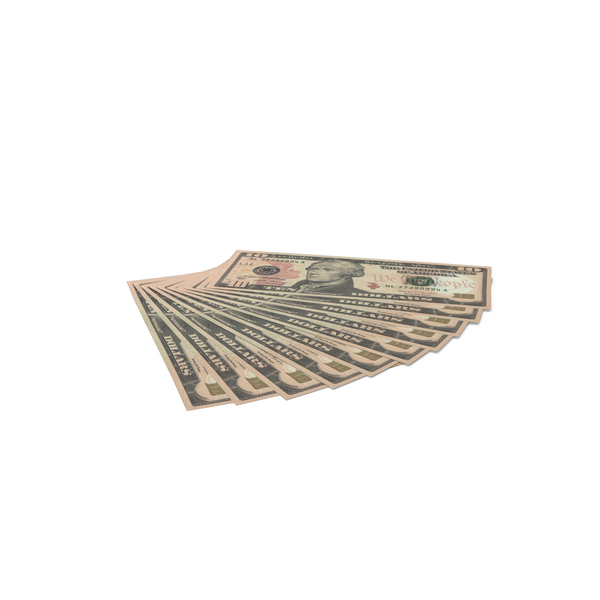 US 10 Dollar Bills PNG & PSD Images