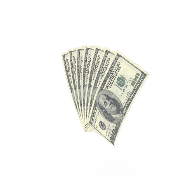 One Hundred: US 100 Dollar Bill PNG & PSD Images