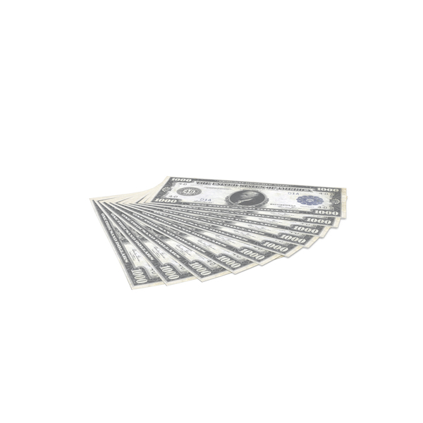 US 1000 Dollar Bill PNG & PSD Images