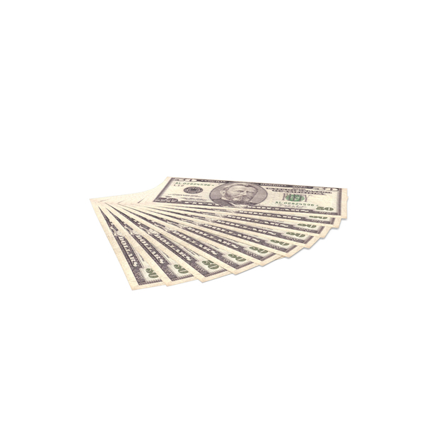 US 50 Dollar bills PNG & PSD Images
