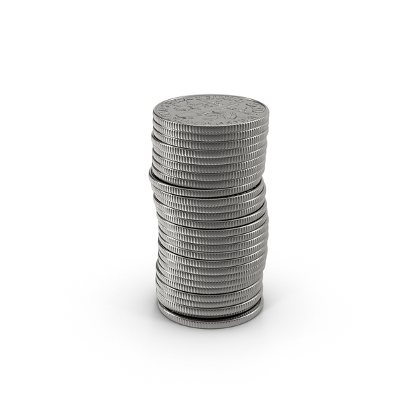 US Dime Stack Object