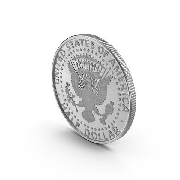 Kennedy: US Half-Dollar PNG & PSD Images