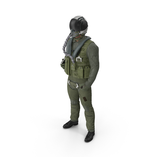 US Military Jet Fighter Pilot Object