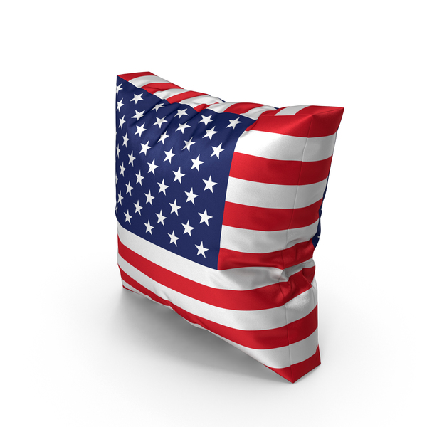 USA Pillow PNG & PSD Images
