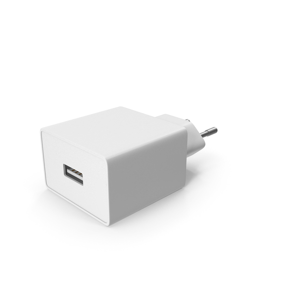 Power Adapter: USB Charger PNG & PSD Images