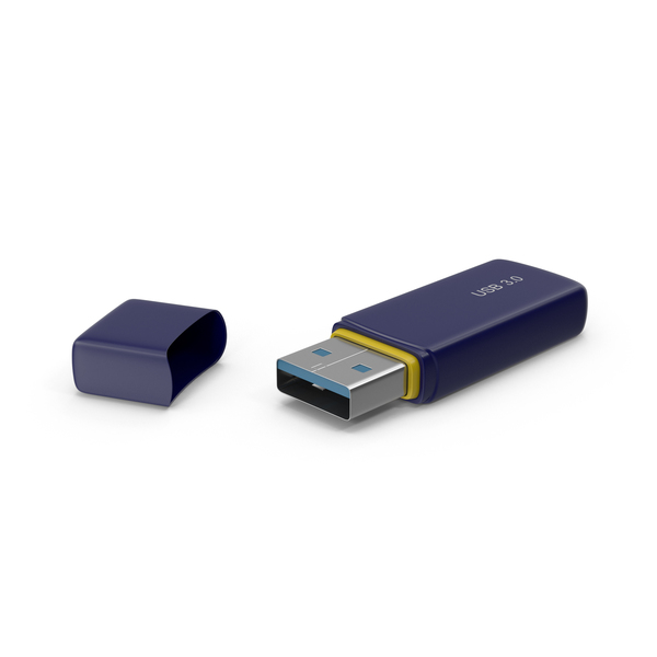 Flash Drive: USB Stick PNG & PSD Images