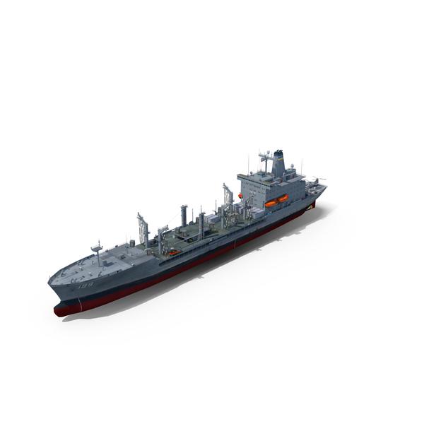 Amphibious Assault Ship: USNS Tippecanoe T-AO-199 PNG & PSD Images