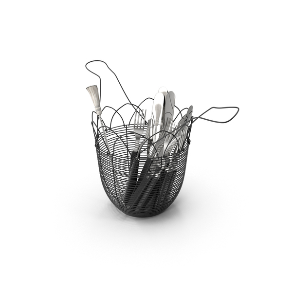 Utensil Holder PNG & PSD Images