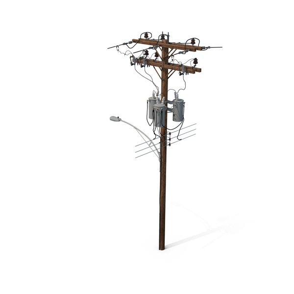 Box: Utility Pole PNG & PSD Images
