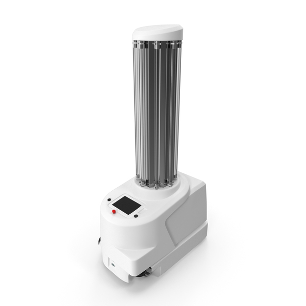 Cleaning Appliance: UV Disinfection Robot Off PNG & PSD Images