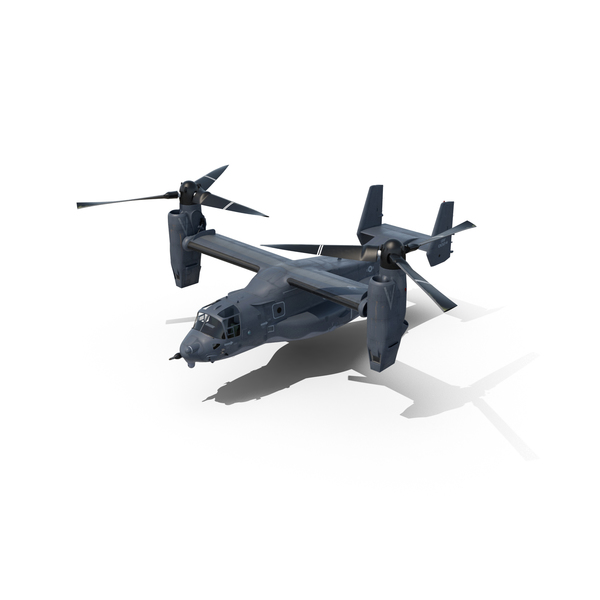 V-22 Osprey Transport Aircraft Object